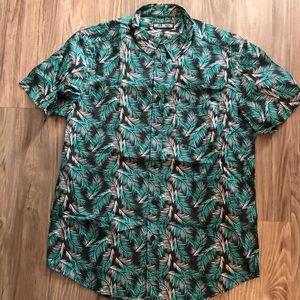 Wellington Hawaiian button up shirt